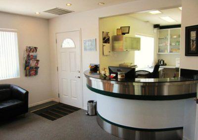 Appletree Dentistry reception desk